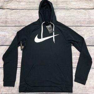 Nike Dry Swoosh Pullover Sweatshirt Hoodie New